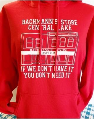 Classic Bachmann's Hooded Sweatshirt