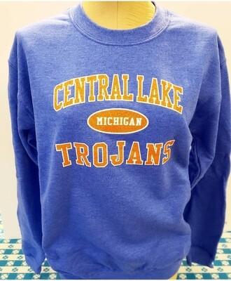 Central Lake Trojan Sweatshirt