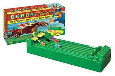 Derby Classic The Original Family Horse Race Game