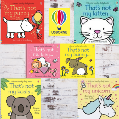 Usborne | Touchy-Feely Books