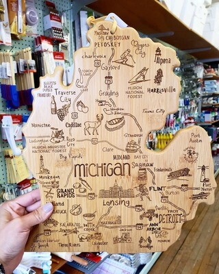 Michigan Cutting Board