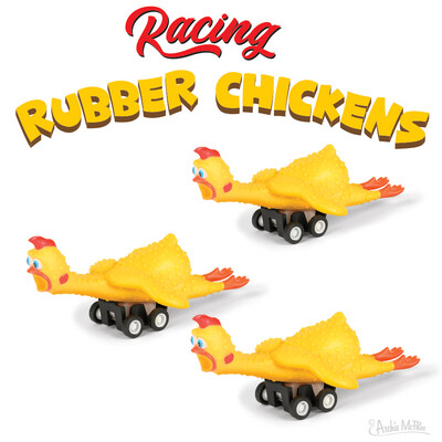 Racing Rubber Chickens