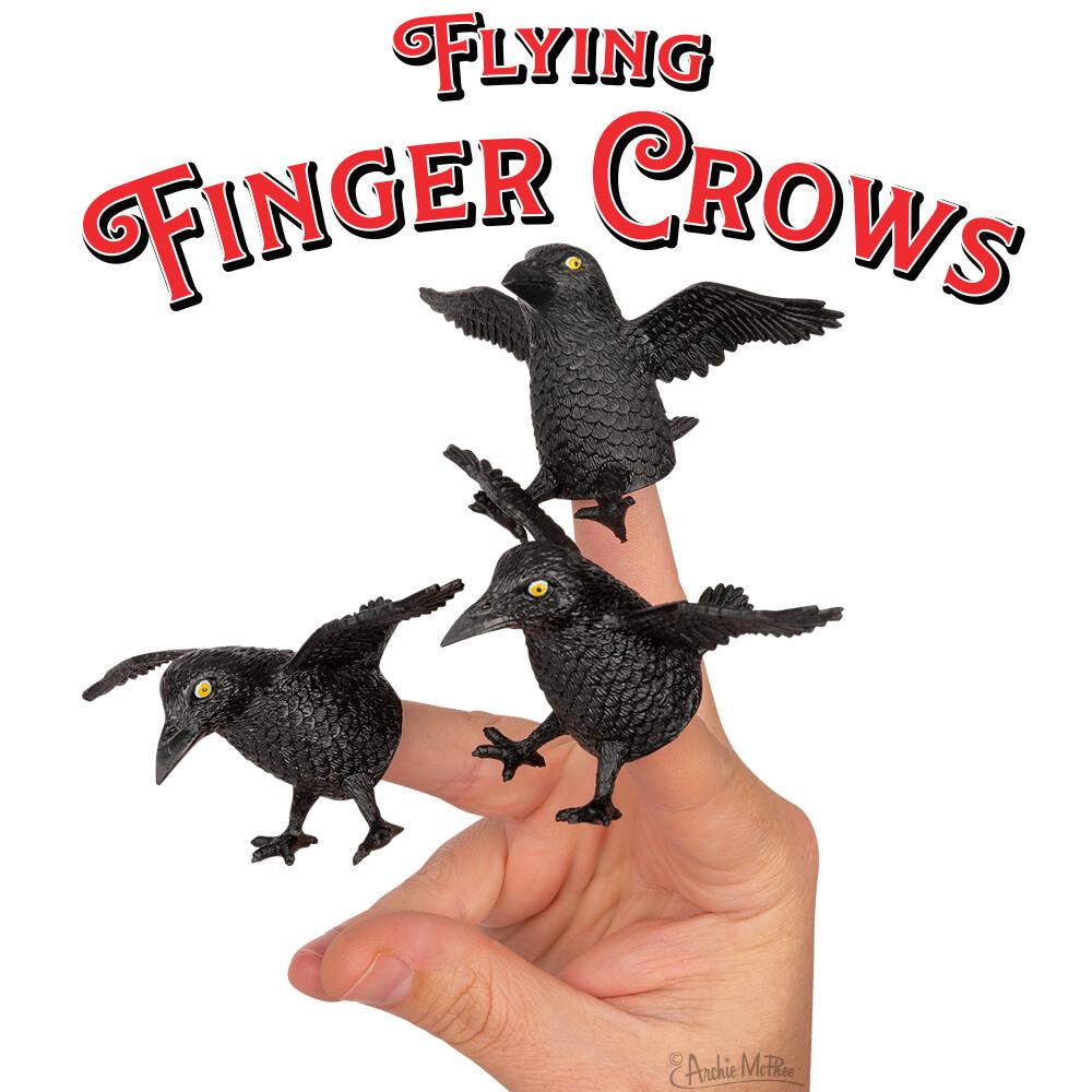 Flying Finger Crows