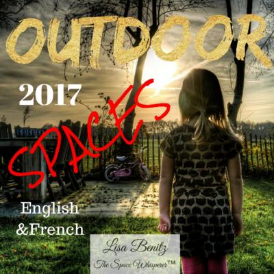 SSS 2017 ~ Les espaces extérieurs / Outdoor Spaces ~ English & Français