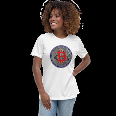 Women's Relaxed Crypto4Bitcoin T-Shirt
