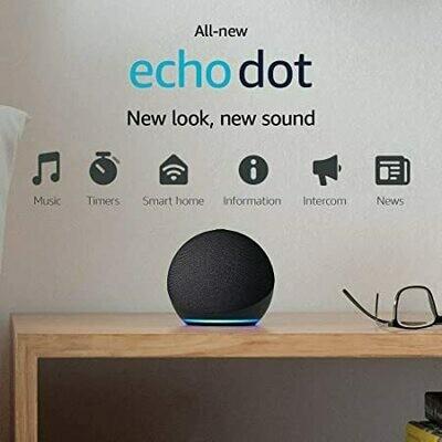 Echo Dot (4th Gen, 2020 release)  Smart speaker with Alexa