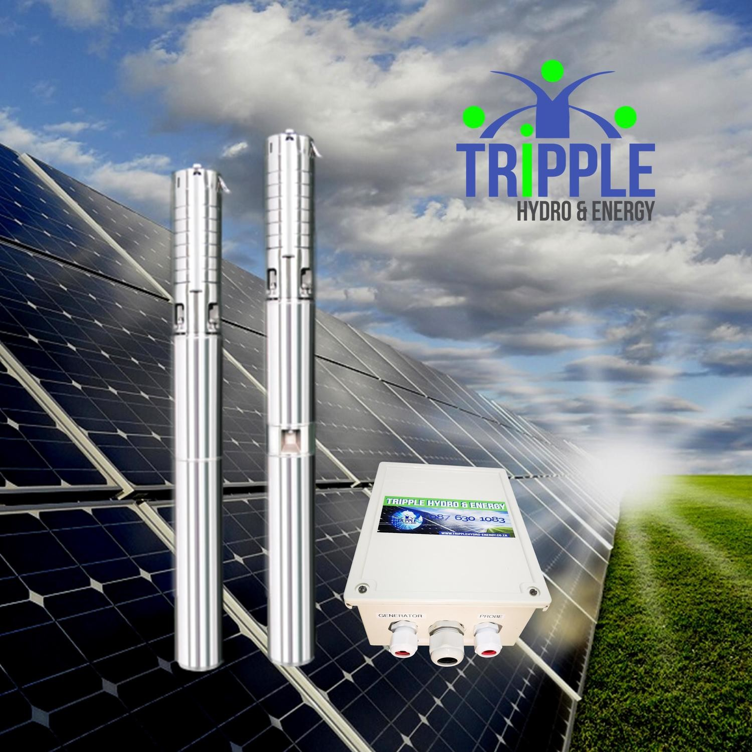 Multi-Flow Duo160 Hybrid Solar Pump (DC & AC)
