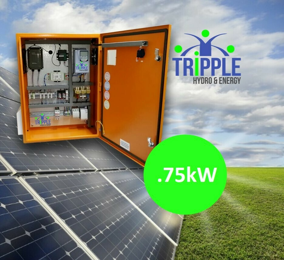 0.75kW Three Phase 220V Solar VSD Conversion Kit