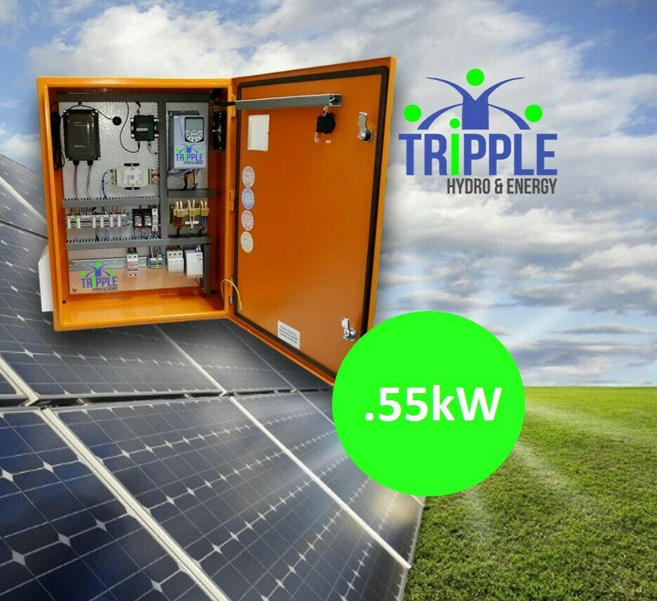 0.55kW Three Phase 220V Solar VSD Conversion Kit