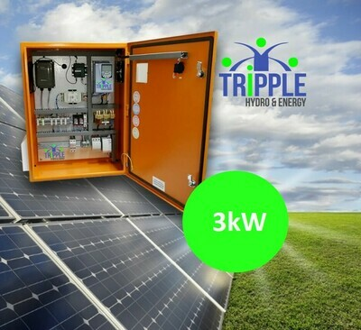 3kW Three Phase 380V Solar VSD Conversion Kit