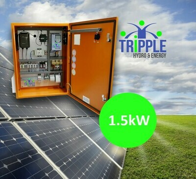 1.5kW Three Phase 380V Solar VSD Conversion Kit