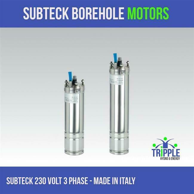 Subteck Oil Filled Motor - 1.1KW 220V - 3 Phase