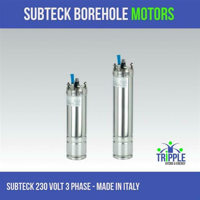 Subteck Oil Filled Motor - 2.2KW 220V - 3 Phase