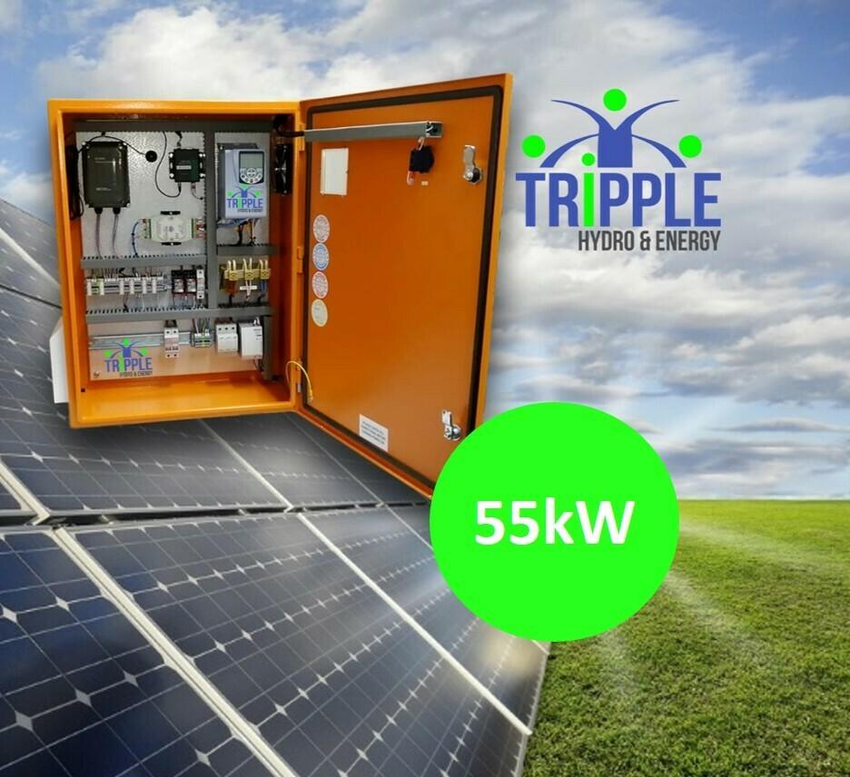 55kW Three Phase 380V Solar VSD Conversion Kit