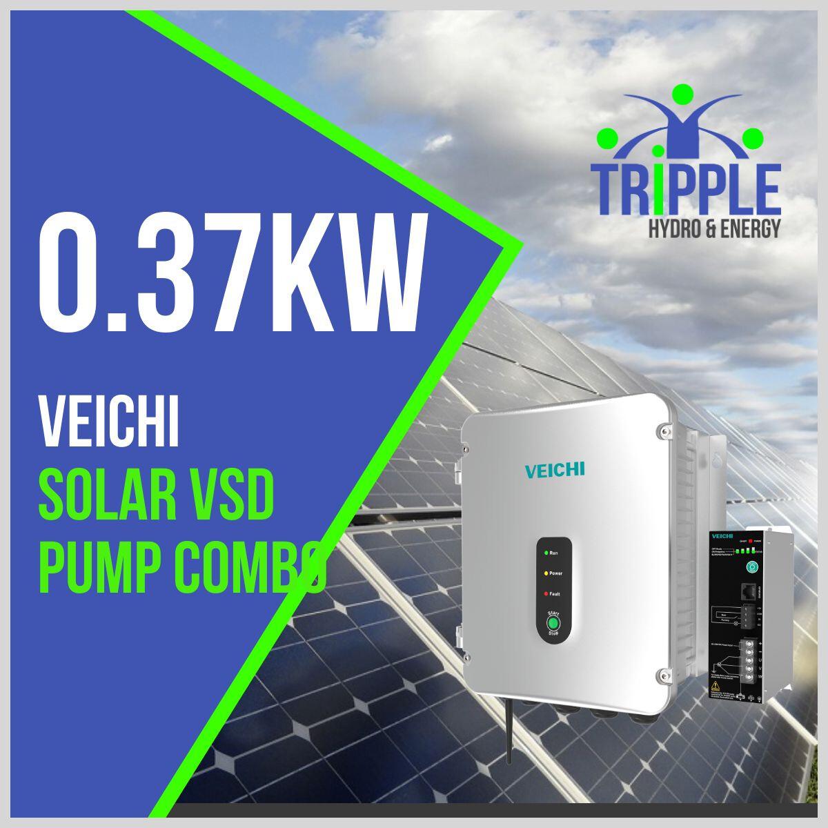 0.37kW Three Phase 220V Solar VSD Conversion Kit