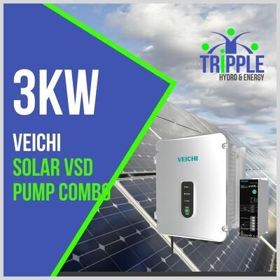 3kW Three Phase 380V Solar VSD Conversion Kit