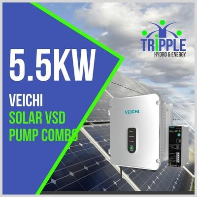 5.5kW Three Phase 380V Solar VSD Conversion Kit