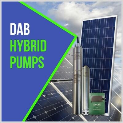 DAB Hybrid Solar Pump (DC & AC) 320m Head