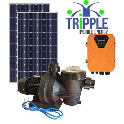 500W Spitfire Solar Pool Pump Combo - Excl VAT