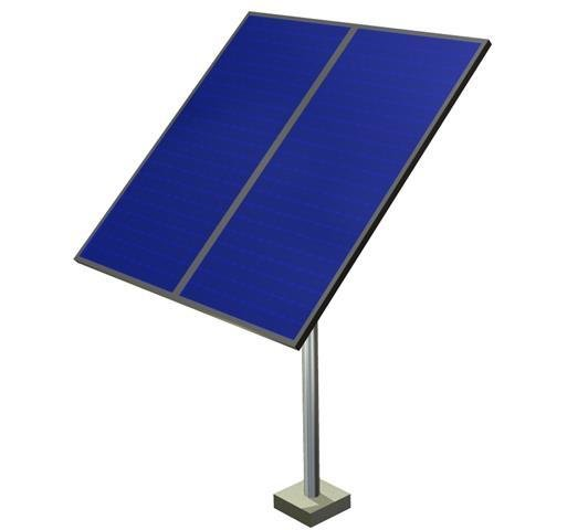 Pelican1070-2L Pole Frame - (2-LARGE PANEL)
