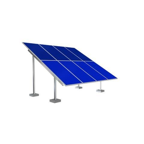 Solar Ground Mounting Frame - 6 Panel