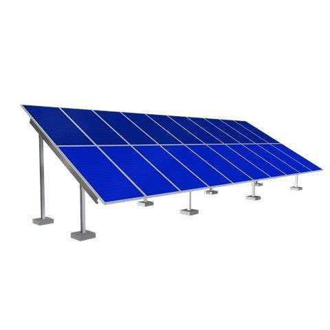 Solar Ground Mounting Frame - 40 Panel