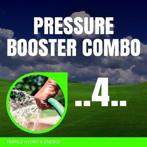 Booster Pump Combo 4 - Medium Home & Garden Irrigation