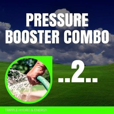 Booster Pump Combo 2 - Medium Home & Garden Irrigation