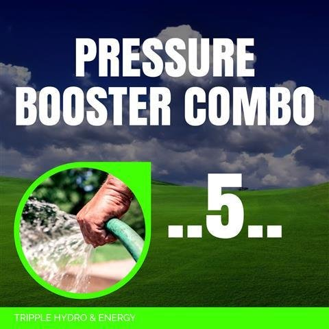 Booster Pump Combo 5 - Large Home & Garden