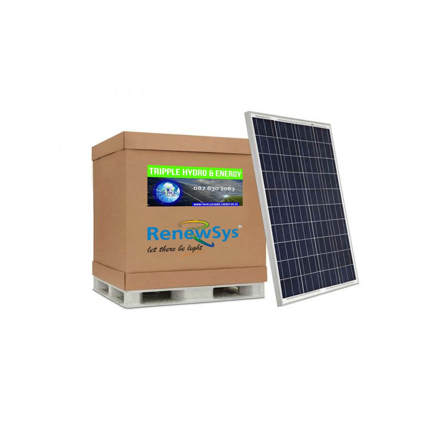 Renewsys 320 Watt Solar Panel Pallet of 26