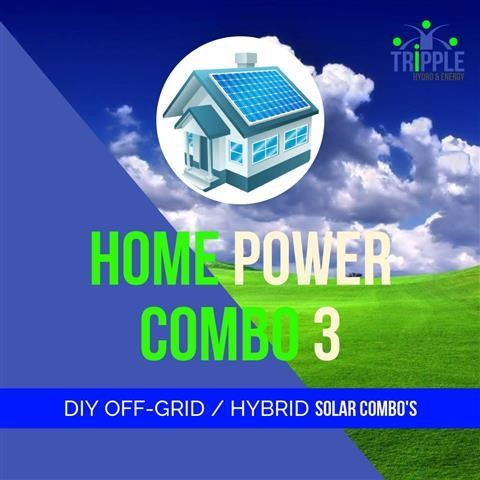 HOME POWER COMBO 3 (Excl Vat)