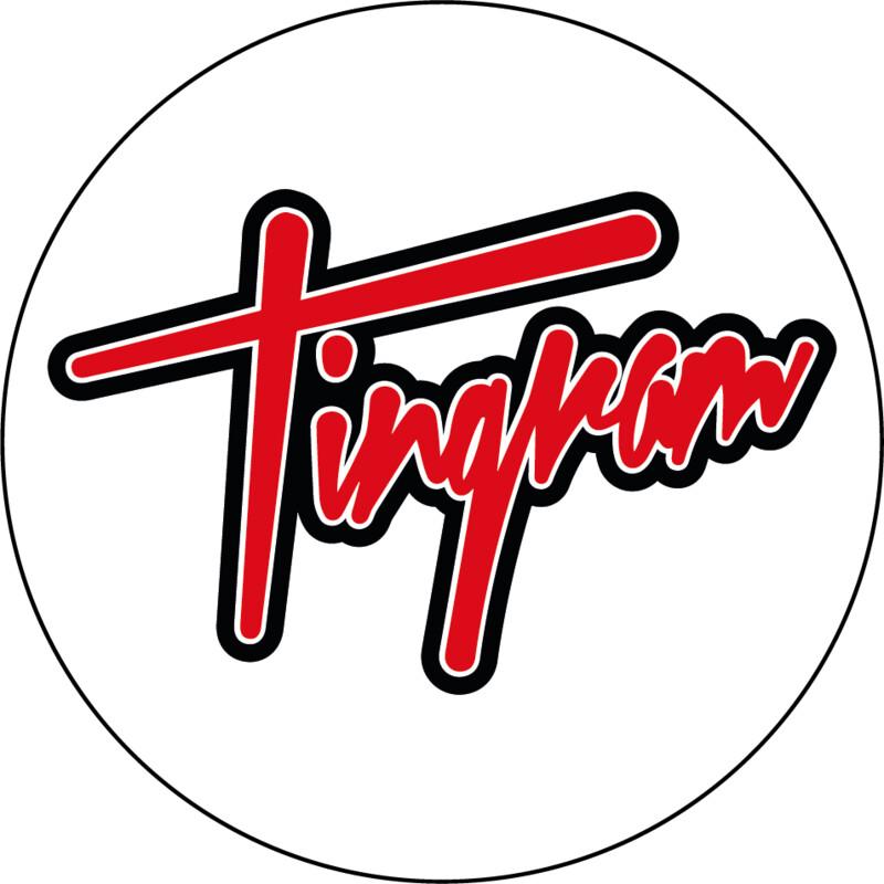 Tingram Circular Sticker