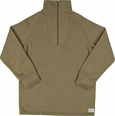 US Marine Corps Extreme Cold Weather Polypropylene Zip-Neck Shirt, Men's Small/Youth XLarge