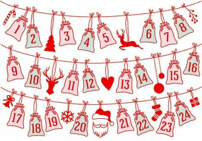 Christmas Outdoor/Camping Advent Package