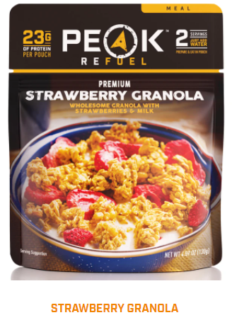 Peak Refuel  - Strawberry Granola