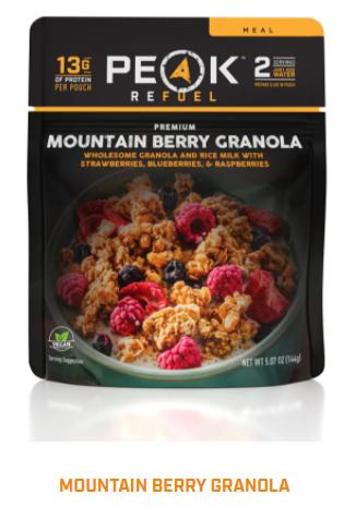 Peak Refuel  - Mountain Berry Granola
