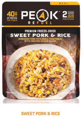 Peak Refuel  - Sweet Pork & Rice