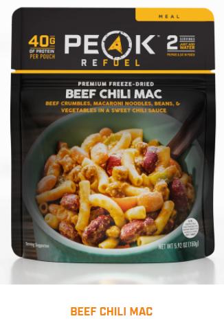 Peak Refuel - Beef Chili Mac