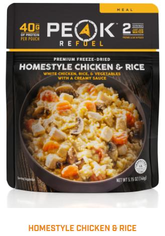 Homestyle Chicken & Rice