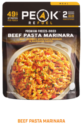 Peak Refuel  - Beef Pasta Marinara