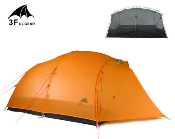 3FUL Qinkong 4 person backpacking tent