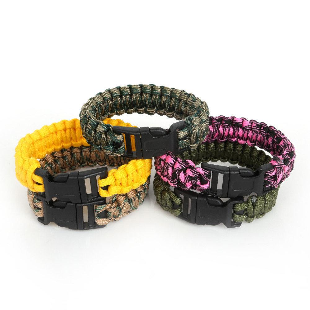 Paracord Backpacking Survival Bracelets