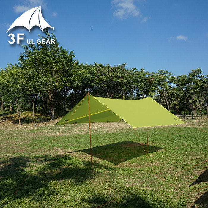 3FUL Gear Ultralight Mini Silnylon Tarp