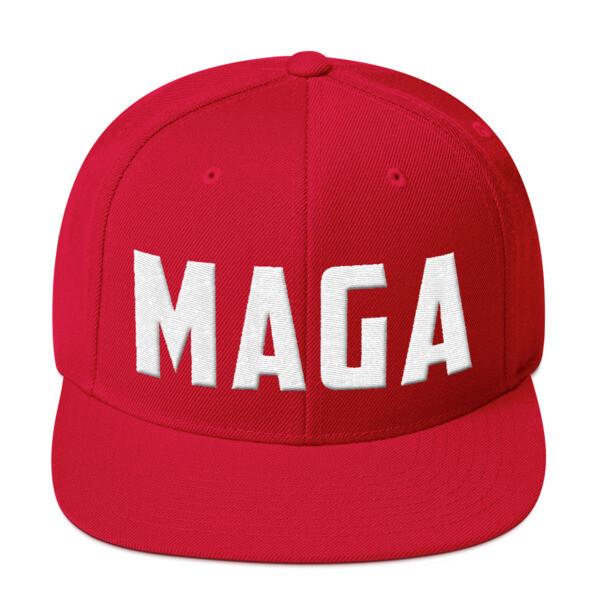 MAGA Snapback Hat