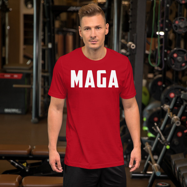 MAGA Short-Sleeve Unisex T-Shirt
