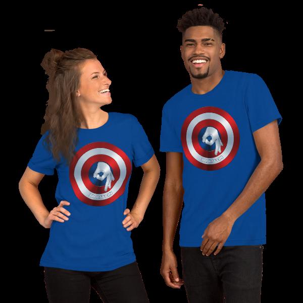 CAPTAIN BROMERICA - BROMAZIN Short-Sleeve Unisex T-Shirt