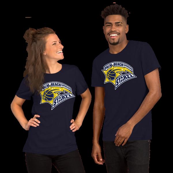PALM BEACH GARDENS STARZZ Short-Sleeve Unisex T-Shirt