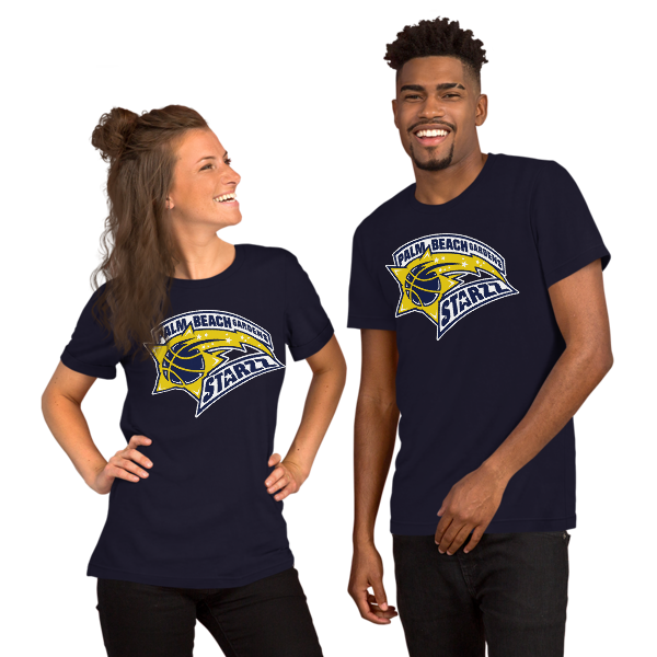 PALM BEACH GARDENS STARZZ Short-Sleeve Unisex T-Shirt