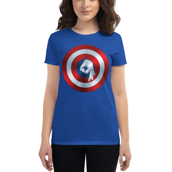 CAPTAIN BROMERICA - BROMAZIN Women's short sleeve t-shirt