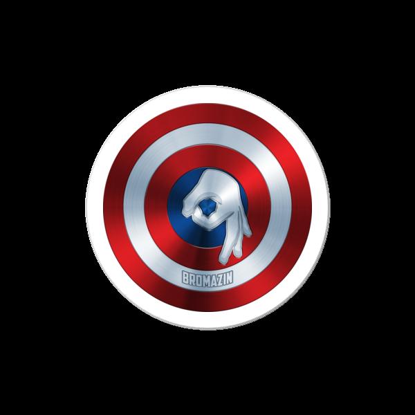 CAPTAIN BROMERICA - BROMAZIN Bubble-free stickers